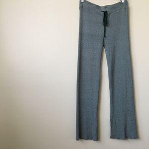 ZARA Knit Thick & Stretchy Boho Flare Pants Size M